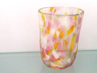 彩グラス(フラワー02)の画像