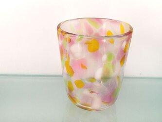 彩グラス(フラワー03)の画像