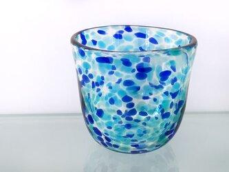 彩グラス(蒼い海)の画像