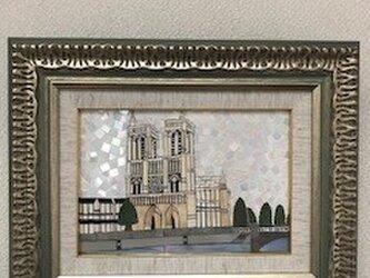 フランスのノートルダム大聖堂(世界遺産)の画像