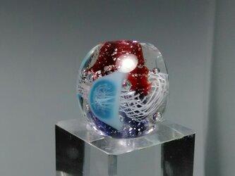 くらげ玉/紫・赤・青い頭の画像