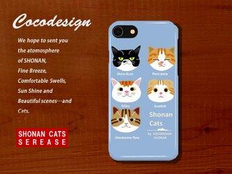 湘南Cats ライツ iPhone・スマホカバー ライトブルーの画像
