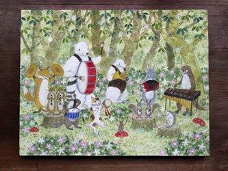 絵画「森のオーケストラ」の画像