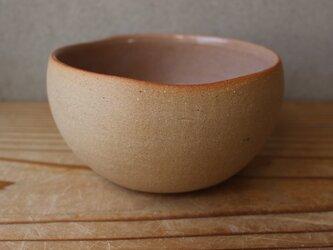 育てるウツワ 揺ら ボウル(地シリーズ)茶 陶土の画像