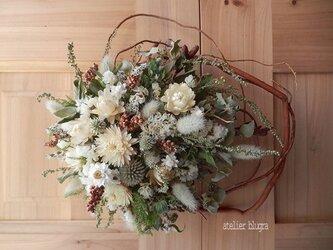 八ヶ岳〜(定形外発送)緩く編んだ柳Wreath01の画像