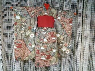 ♪市松人形の着物セット18号サイズNo85の画像