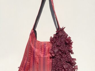 ironui new bag / red × deep redの画像