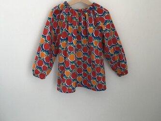 【幼稚園ご準備品】ダブルガーゼりんごちゃん サイズ110の画像