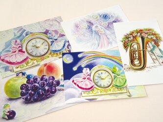5枚組Girlsポストカードの画像