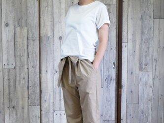 ¥2000-OFF unisex relaxed pants bansyuori ユニセックスリラックスパンツの画像