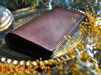 イタリアンレザー・革新のプエブロ・長財布(ショコラ)の画像