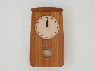 N様ご注文 振り子時計ミニ チークの画像
