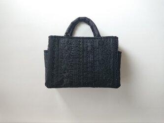 BLACK FRANCE RIBBON STANDARD BAGの画像