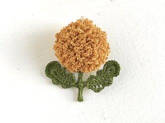 flower brooch A - からしの画像