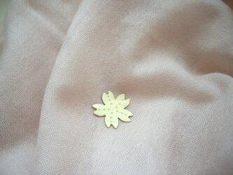 桜のピンブローチ 真鍮 ハットピン の画像