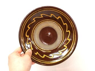 小鹿田焼(坂本拓磨) 6寸皿(一珍)の画像
