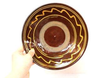 小鹿田焼(坂本拓磨) 7寸皿(一珍)の画像