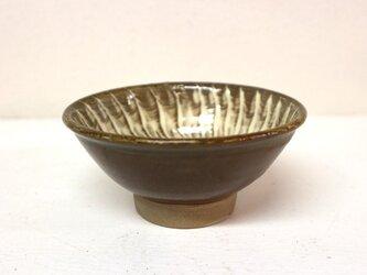 小鹿田焼(坂本拓磨) 4寸鉢(刷毛目・白)の画像