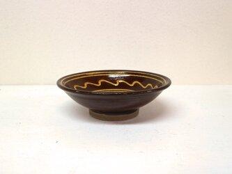 小鹿田焼(坂本拓磨) 5寸深皿(一珍)の画像