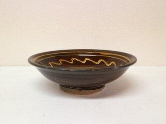 小鹿田焼(坂本拓磨) 6寸深皿(一珍)の画像