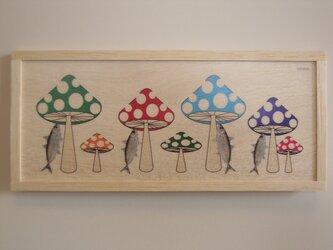 fish and mushroomsの画像
