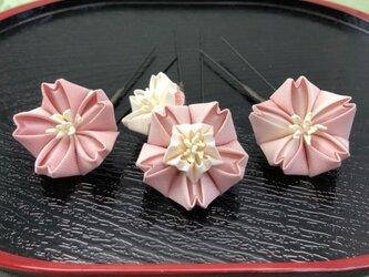 桜のUピン 3本セットの画像
