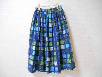 新品綿生地の可愛いスカートの画像