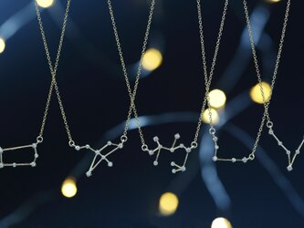 【14KGF】 Star Sign Necklaceの画像