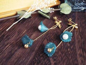 二輪fleurs(GR)*ピアス&イヤリングの画像