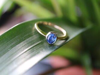 サファイヤ指輪の画像