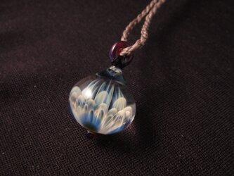 ガラスペンダント3 lotusの画像
