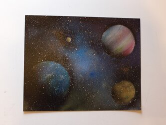 Space (額入り特別作品)の画像