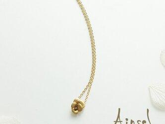 ビオラネックレス(gold)の画像