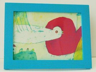 ミニアート フレーム付 「bird」の画像