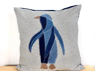 クッションカバー  ペンギンの画像