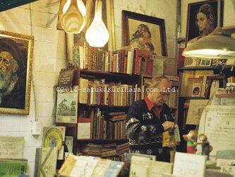 Buenos Aires / Argentina 「昔ながらの古本屋さん」 ポストカード2枚セットの画像