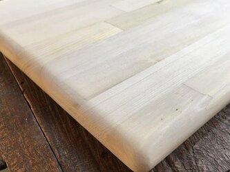 カビに強い 青森ヒバのまな板MR 40cm 寄せ木の画像