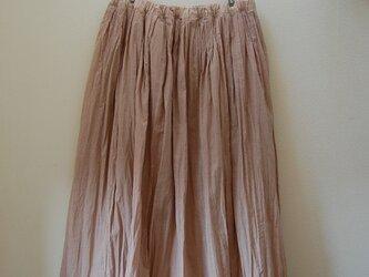 「Sさまご注文分 草木染めスカート -ヤマザクラ- 丈82cm」の画像