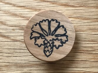 植物のブローチ・実 チェリー材の画像