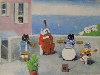 かわいいジャズ・カルテットの画像