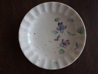 豆皿〜すみれの画像