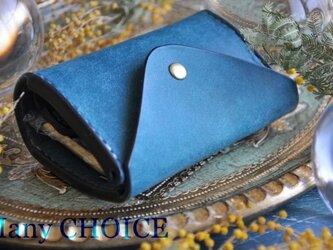 イタリアンレザー・革新のプエブロ・コインキャッチャー財布(改)(オルテシア)の画像