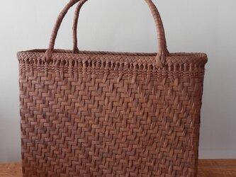 ぶどうつる編みbag 9-9の画像
