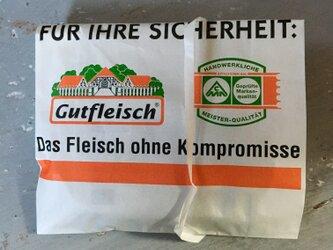 germany マルシェ袋 10枚setの画像
