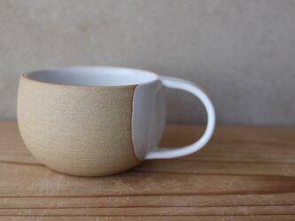 育てるウツワ マグカップ  ナナメ取って(地シリーズ) 茶の画像