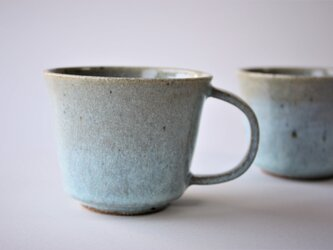 松灰釉マグカップの画像