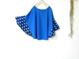 ドルマン袖 青雫 の プルオーバー ~ カットソー ブラウスの画像