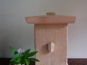 小型厨子(小型仏壇) 白木仕上げ ; 未生の画像