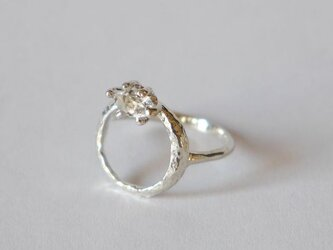 Herkimer diamond baby ring(sv) ハーキマーダイヤモンド★ベビーリング★の画像