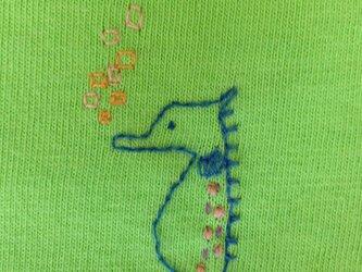 タツノオトシゴTシャツの画像